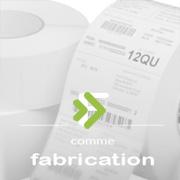 fabrication d'étiquettes adhésives