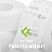 fabrication d'étiquettes, distribution de fil transfert