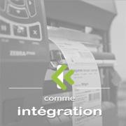 intégration de d'informatique d'identification